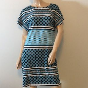 WHBM Medium beautiful pattern summer Dress Med